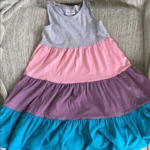 Girls cotton summer swing dress